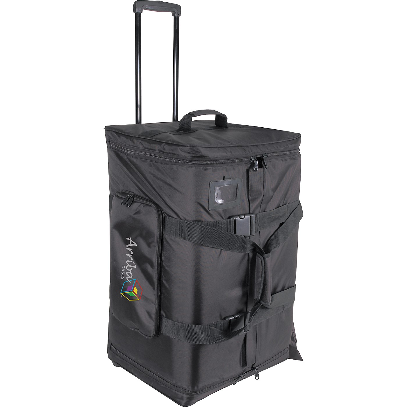 Arriba Cases AS-175 Speaker and Stand Combo Bag with Wheels thumbnail