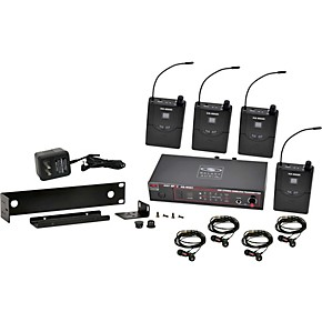 galaxy audio 518 554 mhz black as 950 4 wireless in ear monitor band pack woodwind brasswind. Black Bedroom Furniture Sets. Home Design Ideas