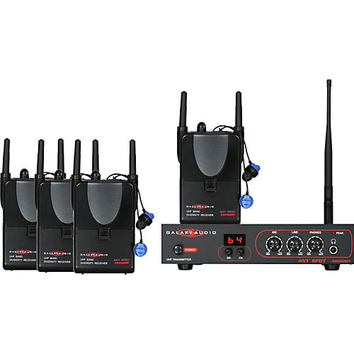 Galaxy Audio AS-ALS-4 Any Spot Band Pack Monitor System-thumbnail