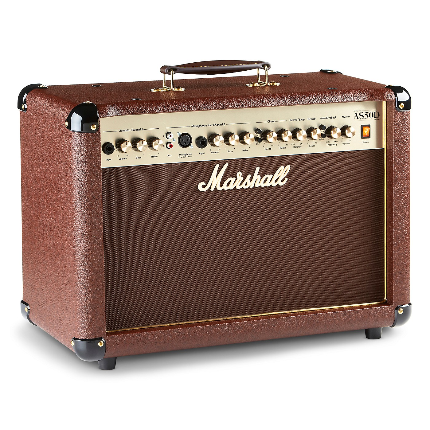 Marshall AS50D 50W 2x8 Acoustic Guitar Combo Amp thumbnail