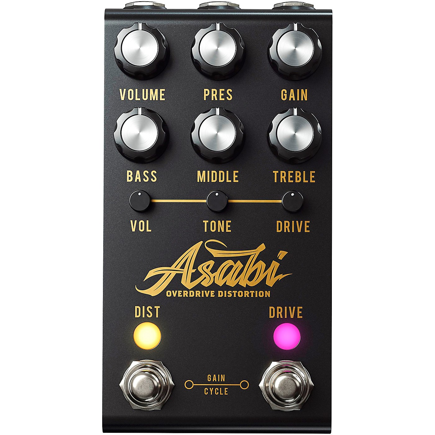 Jackson Audio ASABI Distortion Effects Pedal thumbnail