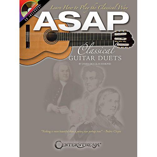 Hal Leonard ASAP Classical Guitar Duets Book/CD thumbnail