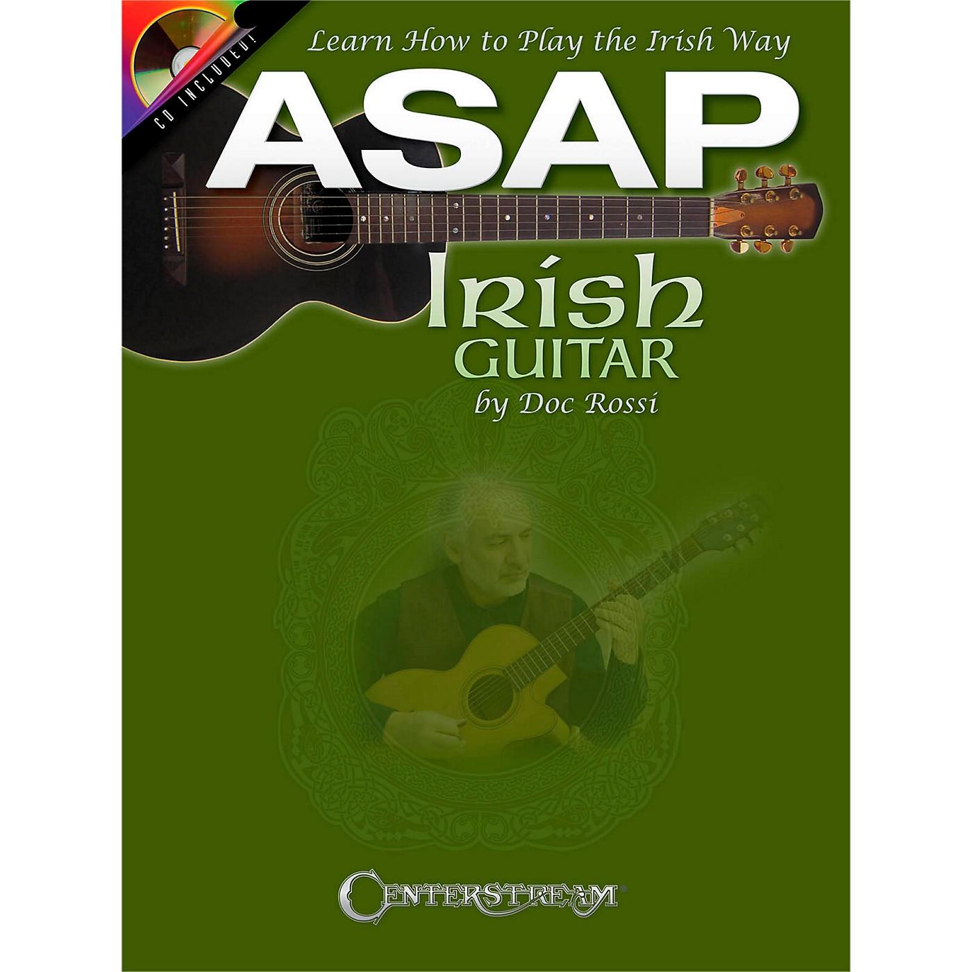 Centerstream Publishing ASAP Irish Guitar - Learn To Play The Irish Way Book/CD thumbnail