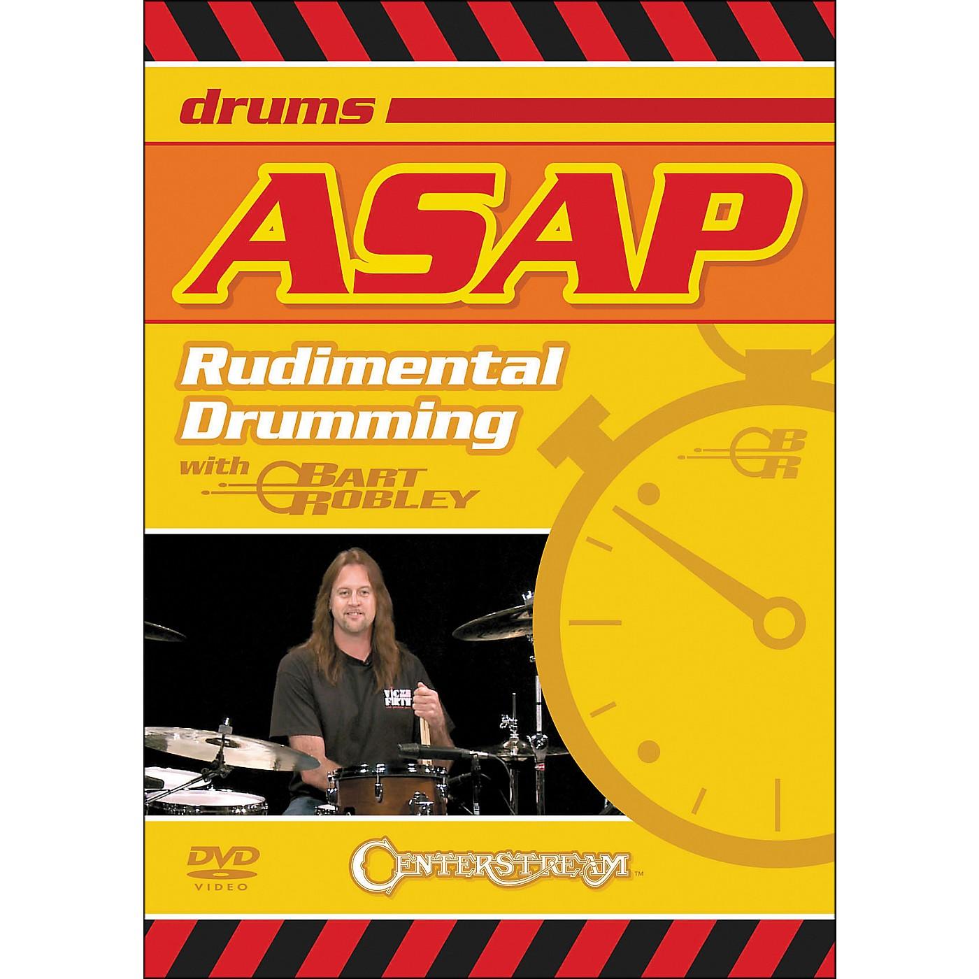 Centerstream Publishing ASAP Rudimental Drumming DVD thumbnail