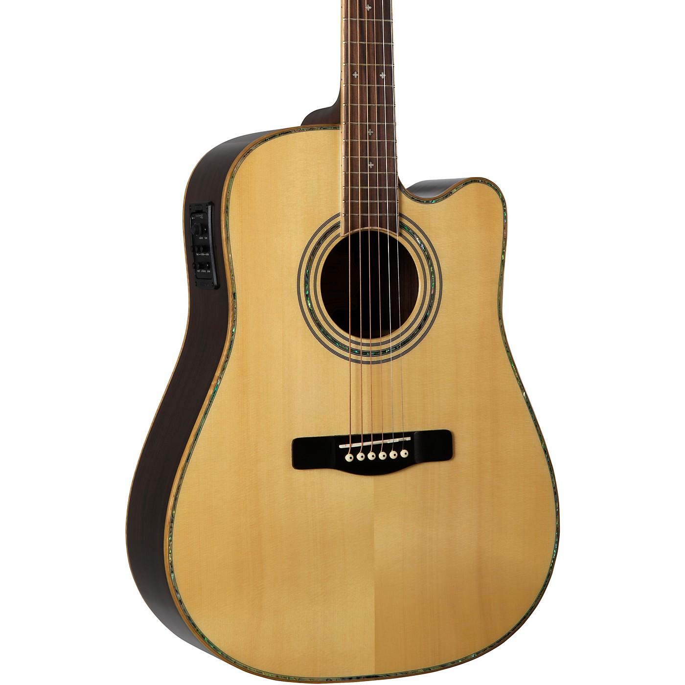 Greg Bennett Design by Samick ASDRCE Dreadnaught Cutaway Solid Spruce Top Acstc-Elec Guitar thumbnail