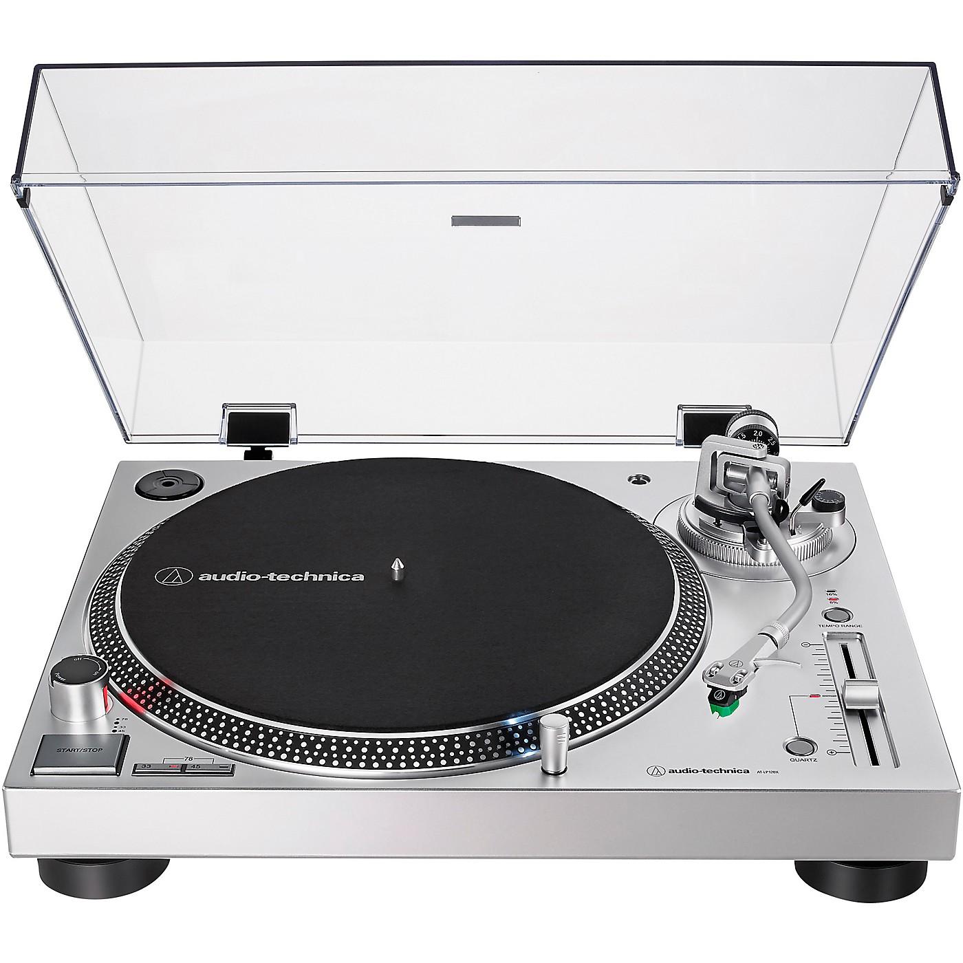 Audio-Technica AT-LP120XUSB Direct-Drive Professional Turntable (USB & Analog) thumbnail