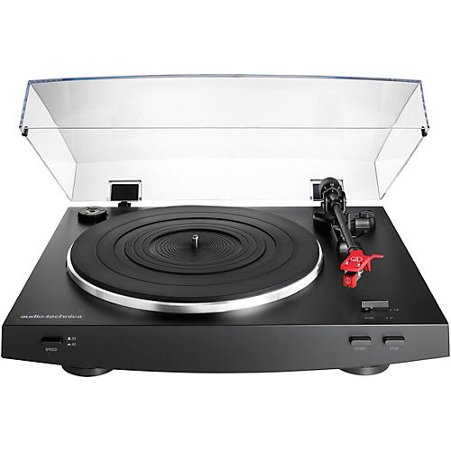 Audio-Technica AT-LP3BK Automatic Belt-Drive Stereo Record Player Turntable thumbnail