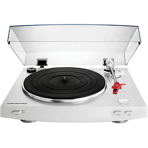 Audio-Technica AT-LP3WH Fully Automatic Belt-Drive Stereo Record Player Turntable thumbnail