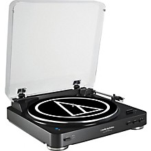 Audio-Technica AT-LP60BK Fully Automatic Belt-Drive Stereo Record Player