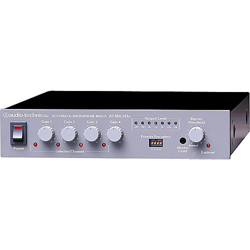 Audio-Technica AT-MX341a SmartMixer Four-Channel Automatic Mixer-thumbnail