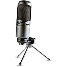 Audio-Technica AT2020USB+ Side-Address Cardioid Condenser USB Microphone
