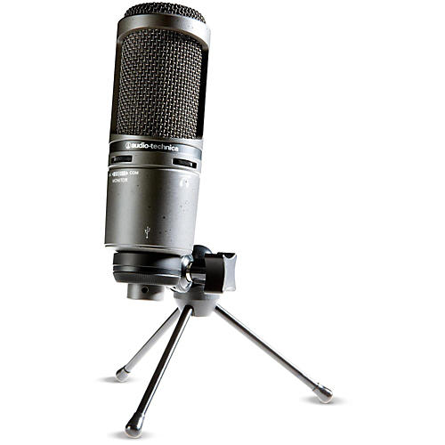 Audio-Technica AT2020USB+ Side-Address Cardioid Condenser USB Microphone thumbnail
