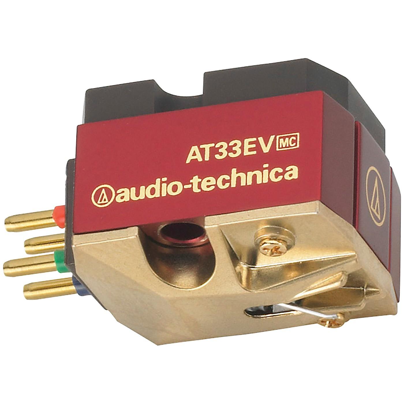 Audio-Technica AT33EV Dual Moving Coil Cartridge thumbnail