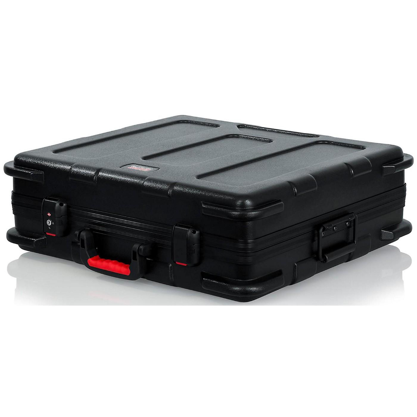 Gator ATA Molded Mixer Case with 12U Pop-Up Rack Rails thumbnail