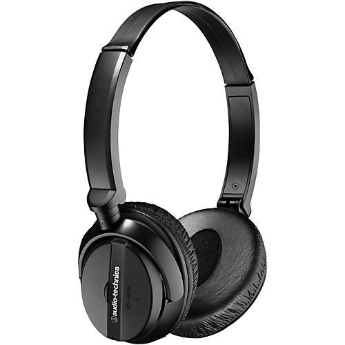 Audio-Technica ATH-ANC20 QuietPoint Active Noise-cancelling On-Ear Headphones thumbnail