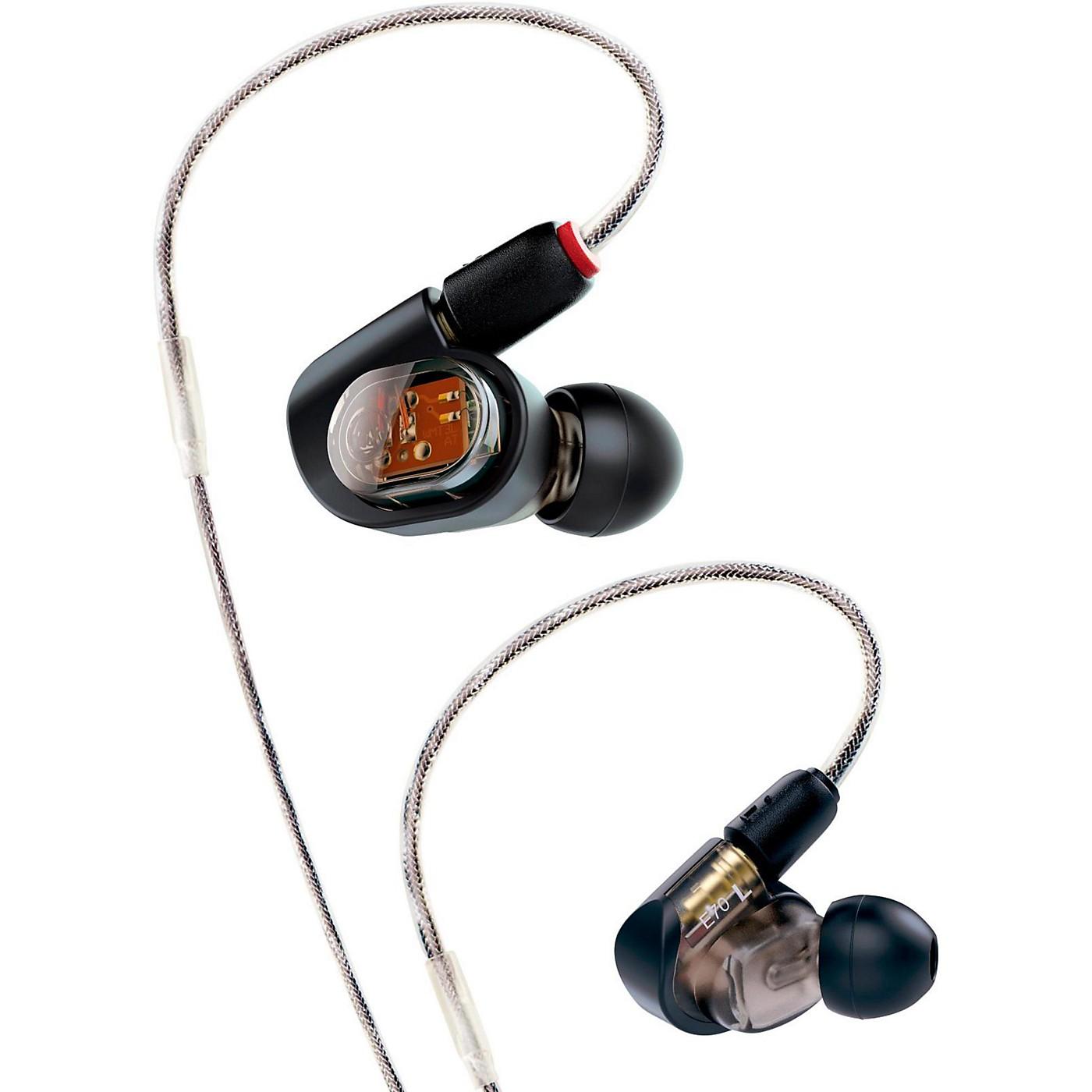 Audio-Technica ATH-E70 Professional In-Ear Monitor Headphones thumbnail