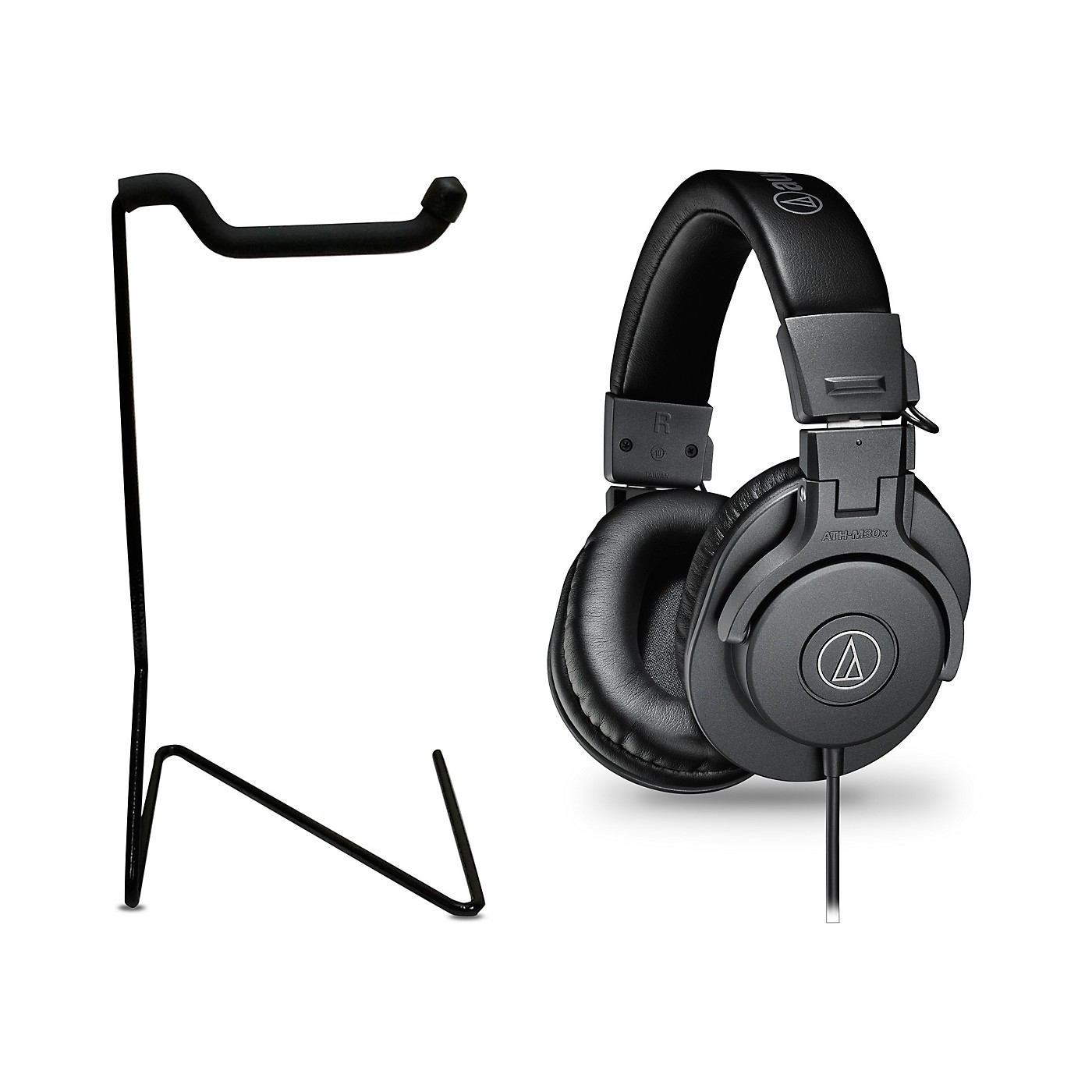 Audio-Technica ATH-M30x Studio Monitor Headphones with Stand thumbnail