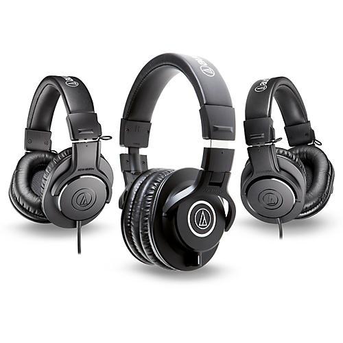 Audio-Technica ATH-M40x Headphones with 2 ATH-M20x Headphones thumbnail