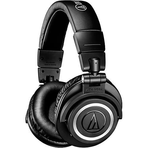 Audio-Technica ATH-M50XBT Bluetooth Closed-Back Headphones thumbnail
