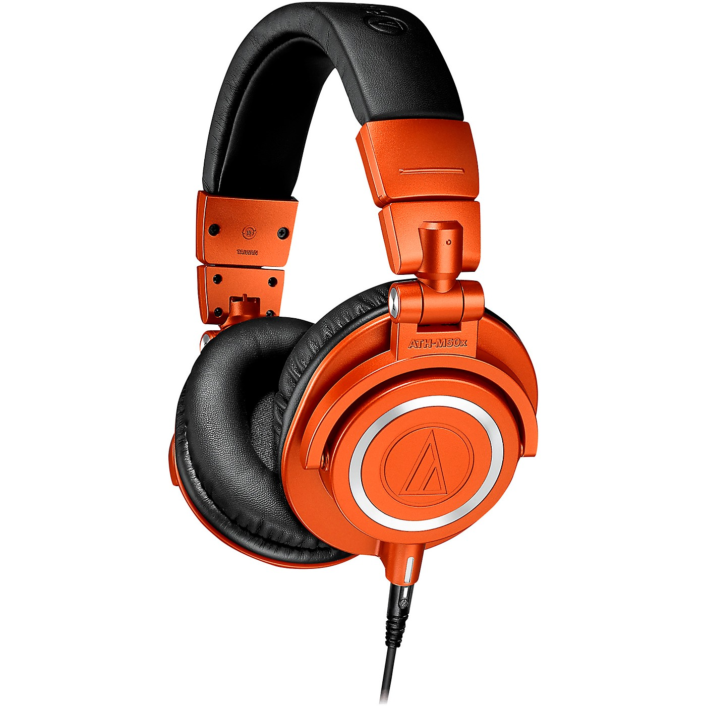 Audio-Technica ATH-M50XMO Closed-Back Studio Monitoring Headphones Limited Edition Metallic Orange thumbnail