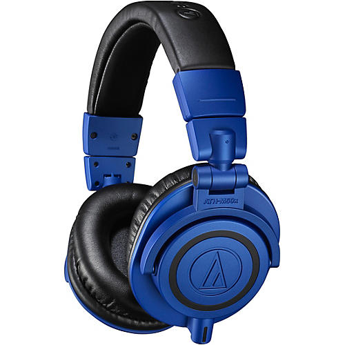 Audio-Technica ATH-M50xBB Black/Blue Limited Edition Headphone thumbnail