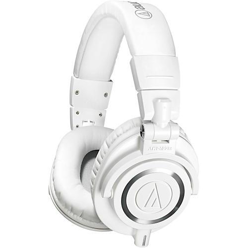 Audio-Technica ATH-M50xWH Closed-Back Professional Studio Monitor Headphones thumbnail