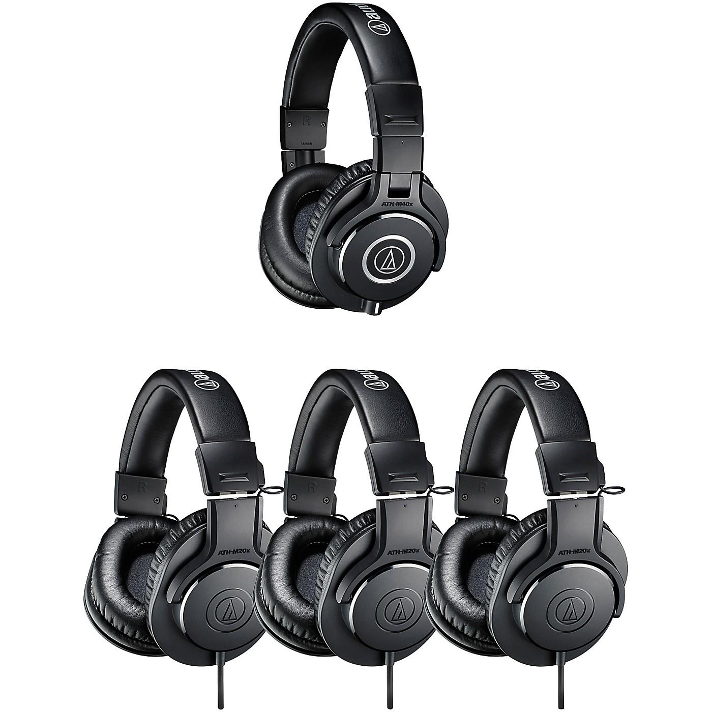 Audio-Technica ATH-PACK4 Professional Headphones Studio Pack thumbnail