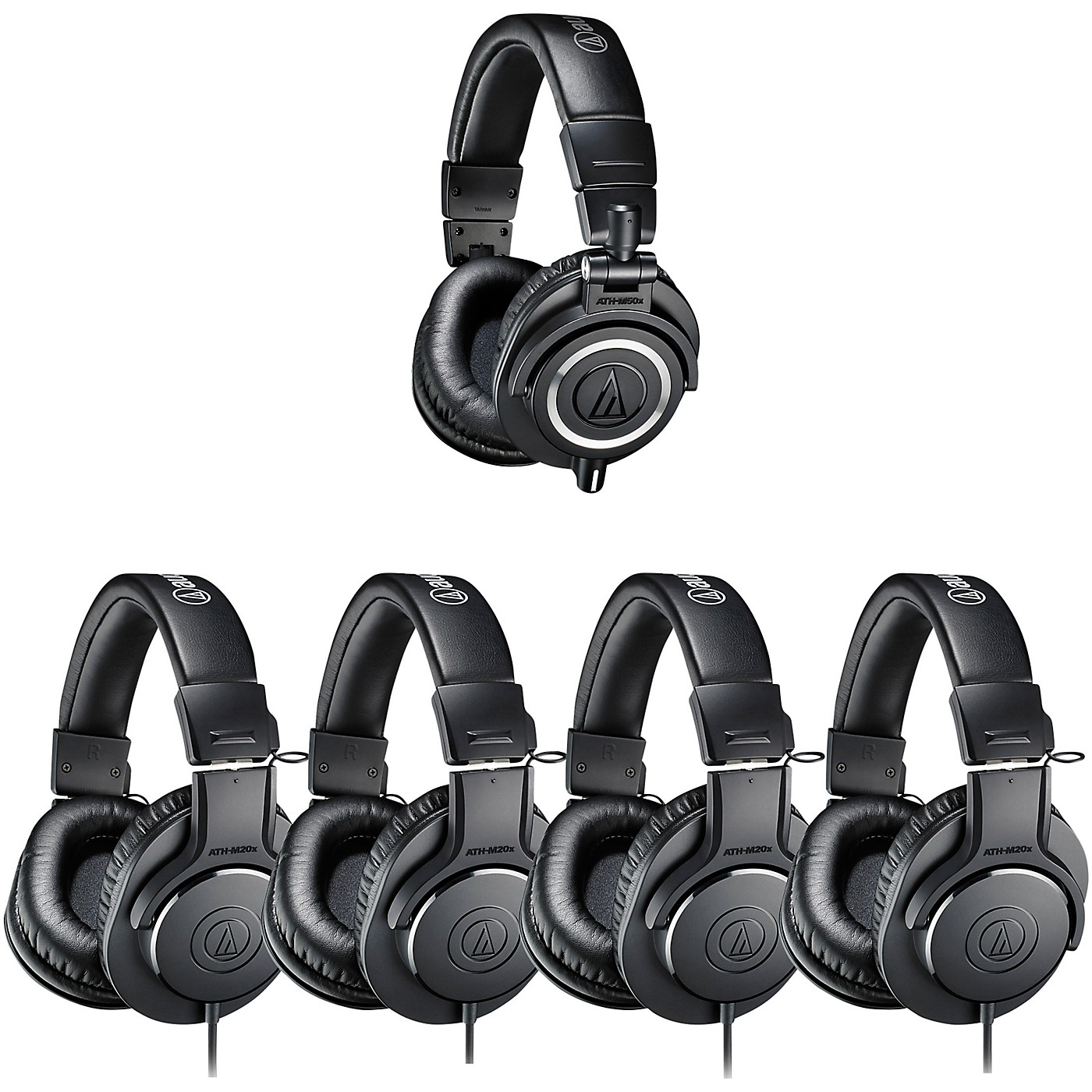 Audio-Technica ATH-PACK5 Professional Headphones Studio Pack thumbnail
