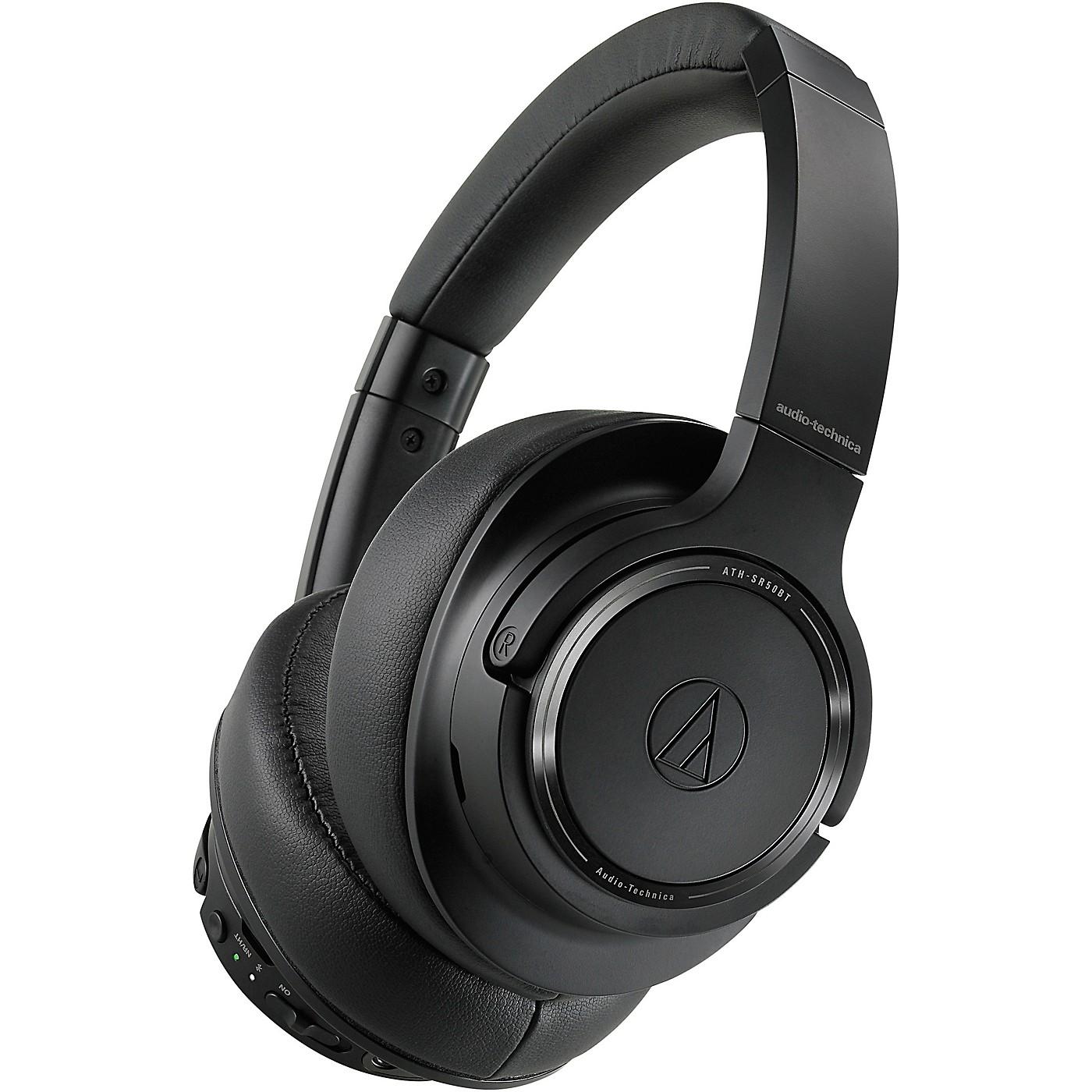 Audio-Technica ATH-SR50BT Wireless Over-Ear Headphones thumbnail