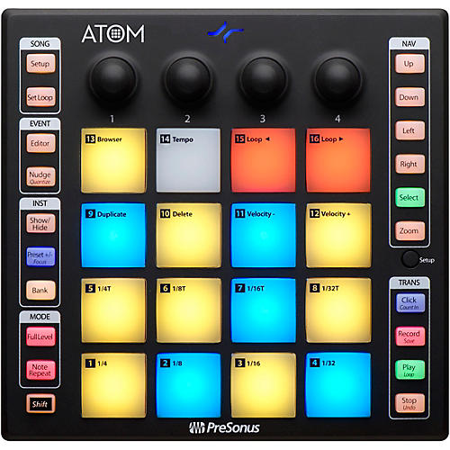 PreSonus ATOM Production and Performance Pad Controller thumbnail