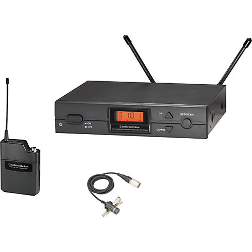Audio-Technica ATW-2129a 2000 Series Lav Wireless System thumbnail