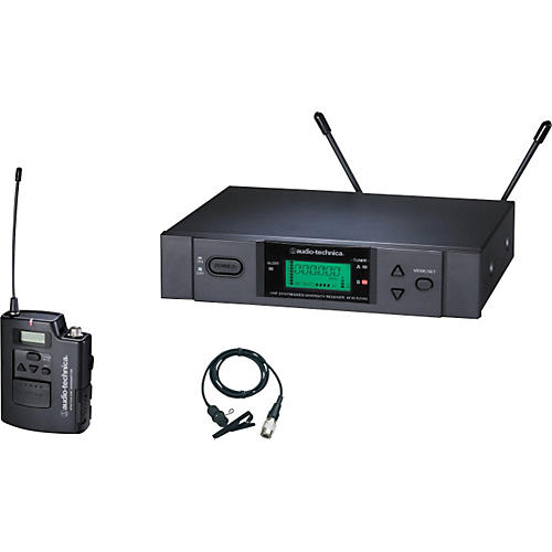 Audio-Technica ATW-3131b 3000 Series Lavalier Wireless System thumbnail