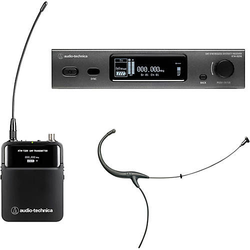 Audio-Technica ATW-3211/894 3000 Series Frequency-agile True Diversity UHF Wireless Systems thumbnail