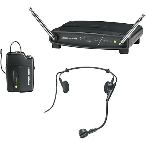 Audio-Technica ATW-901/H System 9 VHF Wireless Headset Microphone System thumbnail