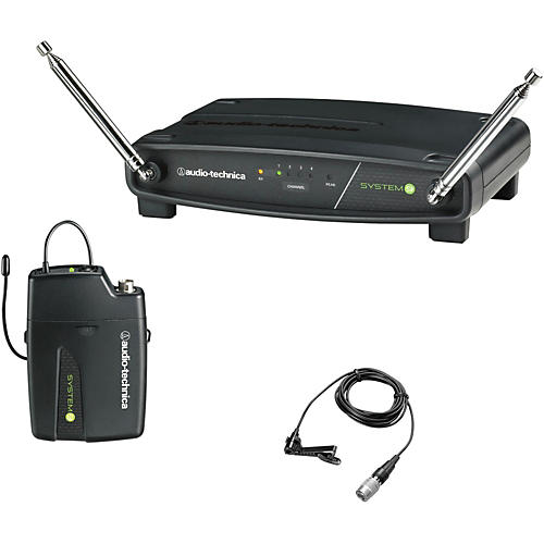 Audio-Technica ATW-901/L System 9 VHF Wireless Lavalier Microphone System thumbnail