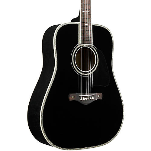 Ibanez AV5DBK Solid Top Dreadnought Acoustic Guitar thumbnail