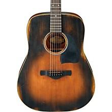 Ibanez AVD6 Artwood Vintage Distressed Dreadnought Acoustic Guitar