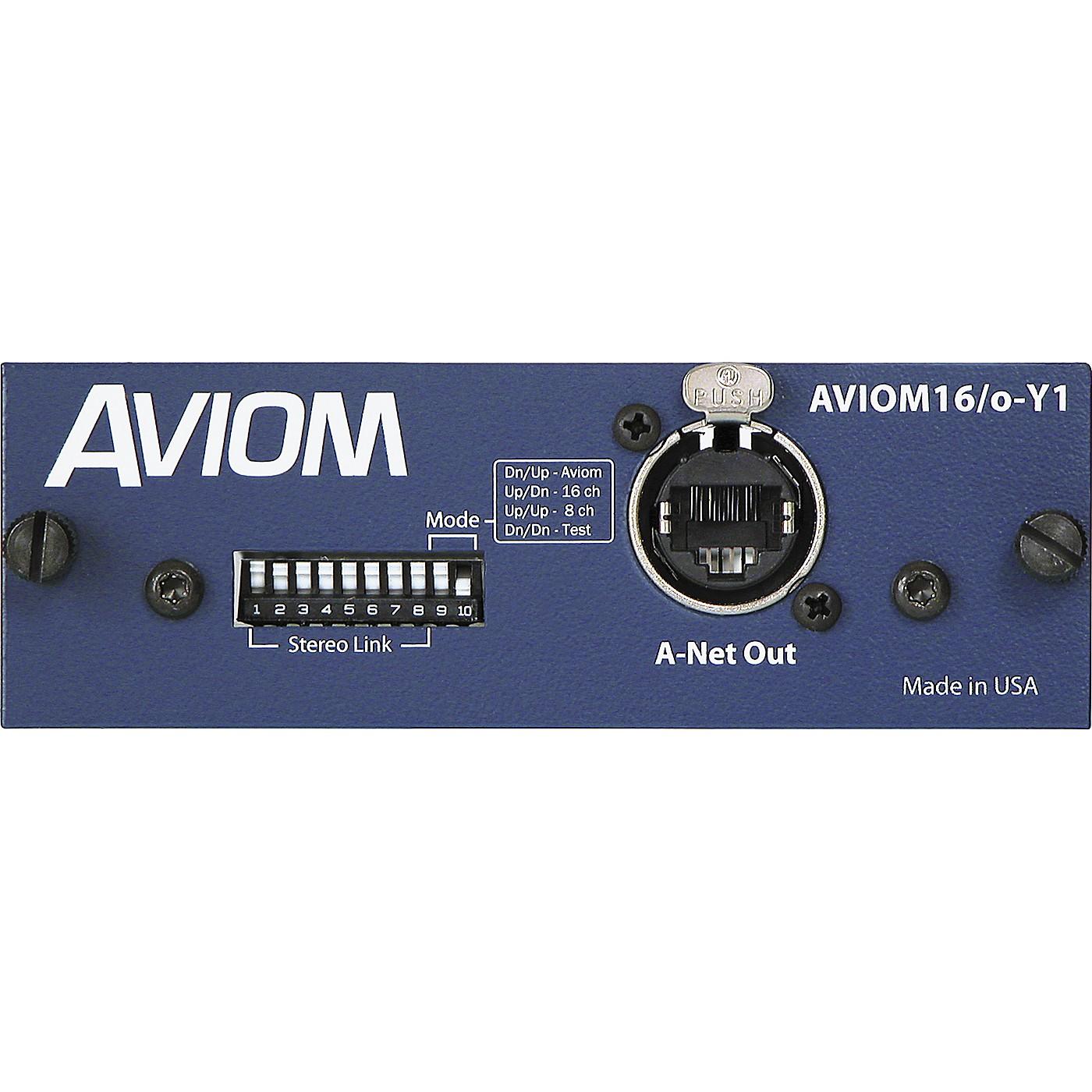 Aviom AVIOM16/o-Y1 Card for Yamaha Digital Mixers thumbnail