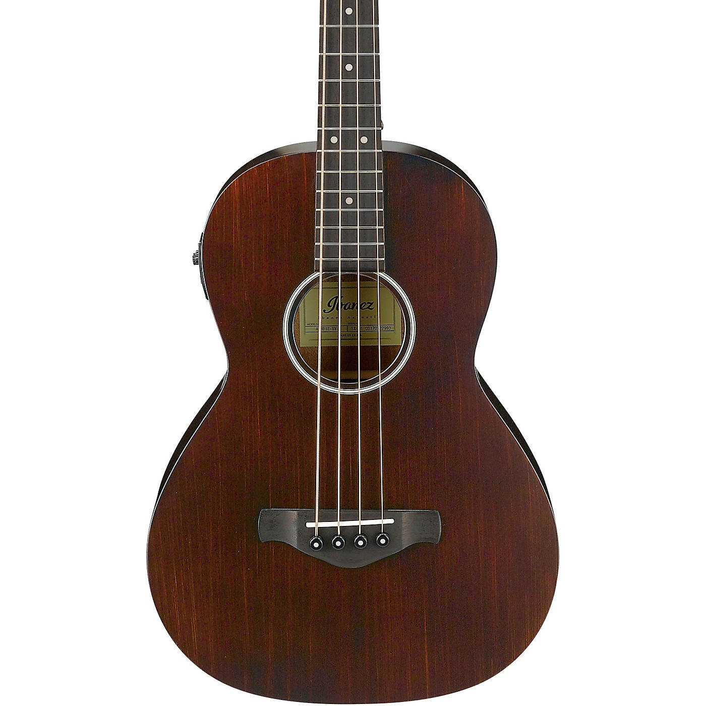 Ibanez AVNB1E Artwood Vintage Parlor Acoustic-Electric Bass thumbnail