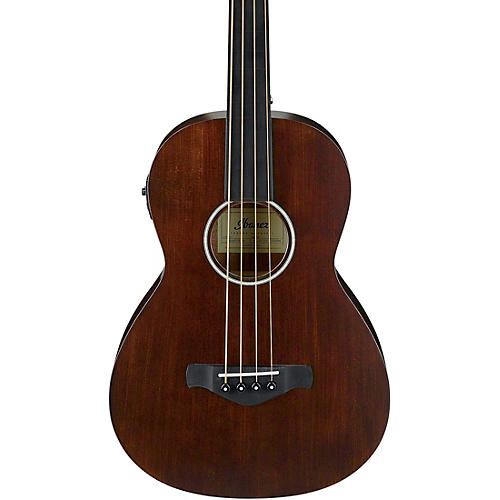 Ibanez AVNB1FE Artwood Vintage Parlor Solid-Top Acoustic-Electric Bass thumbnail