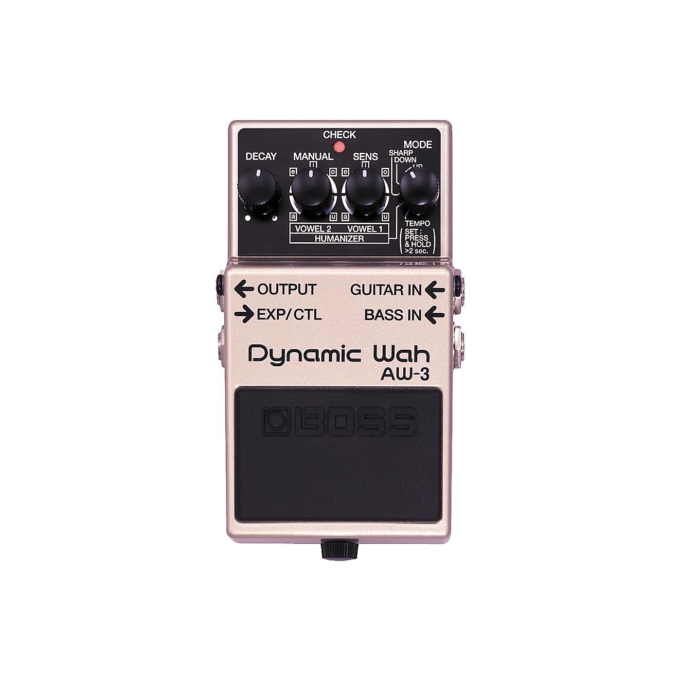 BOSS AW-3 Dynamic Wah Guitar Effects Pedal thumbnail