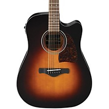 Ibanez AW400C Artwood Solid Top Dreadnought Acoustic-Electric Guitar