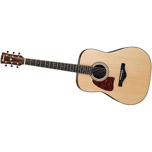 Ibanez AW400LNT Artwood Solid Top Dreadnought Left-Handed Acoustic Guitar thumbnail