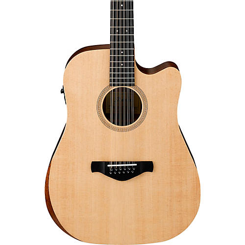 Ibanez AW521CE Artwood Unbound 12-String Dreadnought Acoustic-Electric Guitar thumbnail