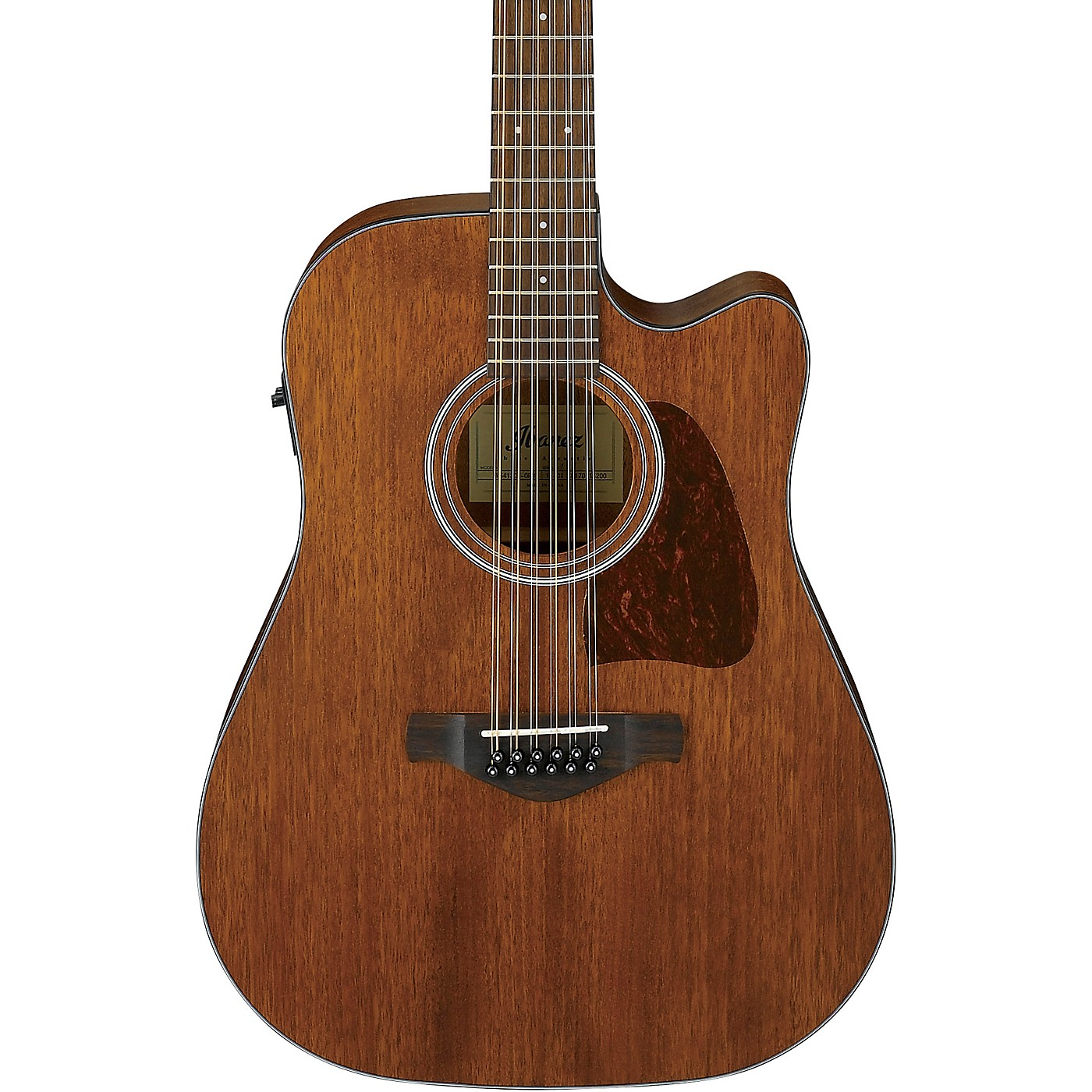 Ibanez AW5412CE-OPN 12-String Acoustic-Electric Guitar thumbnail
