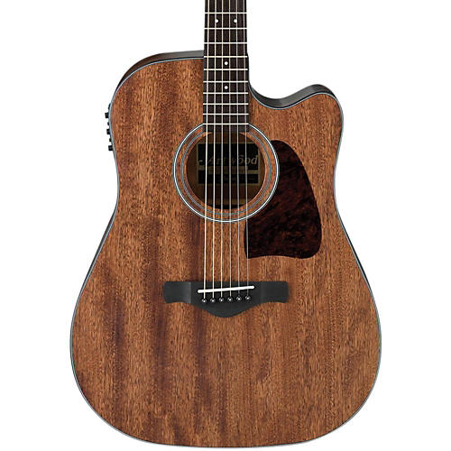 Ibanez AW54CEOPN Artwood Solid Top Dreadnought Acoustic-Electric Guitar thumbnail