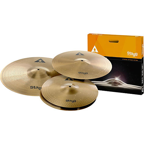 Stagg AX Series Deluxe Cymbal Set thumbnail