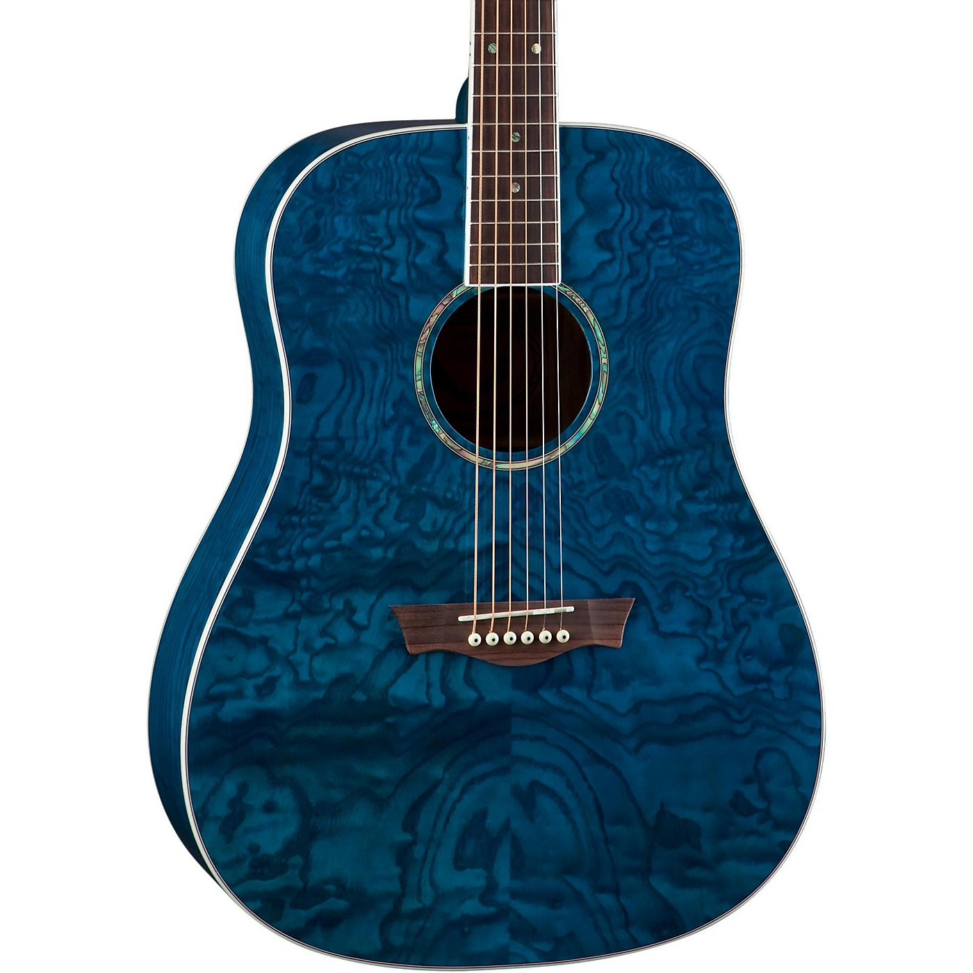 Dean AXS Dreadnought Quilt Acoustic Guitar thumbnail