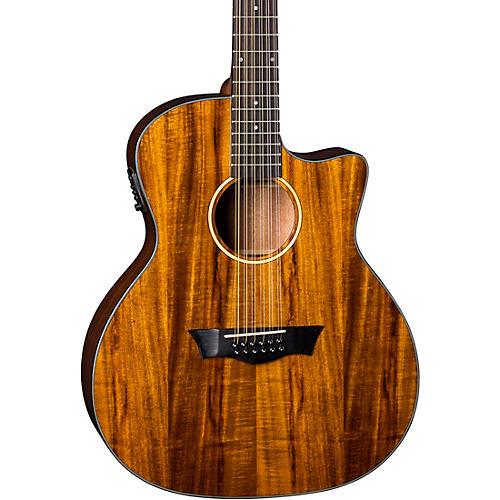 Dean AXS Exotic Cutaway Acoustic-Electric 12-String Guitar thumbnail