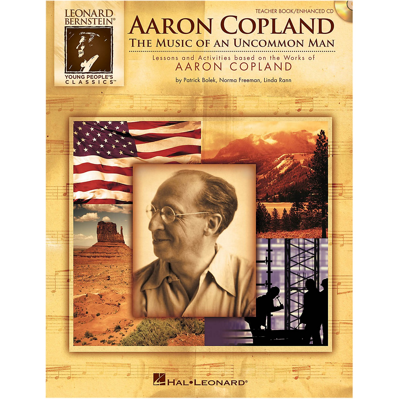 Hal Leonard Aaron Copland: The Music Of An Uncommon Man Classroom Kit thumbnail